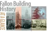 Fallon Building History at a glance